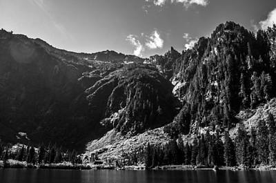 Heather Wall Art - Photograph - Heather Lake Black And White by Pelo Blanco Photo