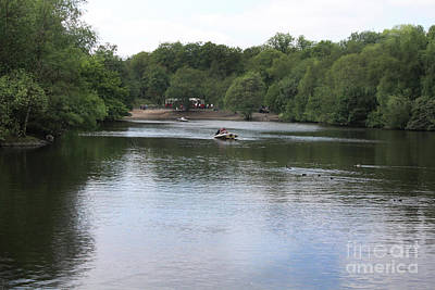 Photograph - Heaton Park Boating Lake by Doc Braham