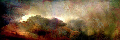 Art Print featuring the painting Heaven And Earth - Abstract Art by Jaison Cianelli