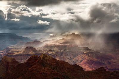 Heaven And Earth Art Print by Adam Schallau