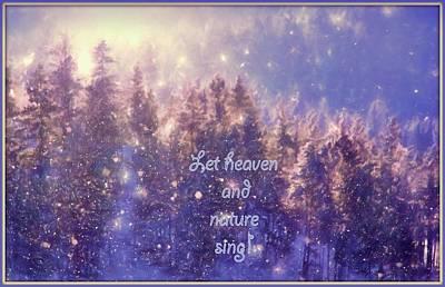 Heaven And Nature Art Print