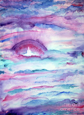 Painting - Heaven Awaits by Nancy Cupp