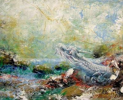 Fantasy Painting - Heaven Dragon by Hiroyuki Suzuki