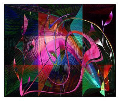 Digital Art - Heaven Garden 4 by Iris Gelbart