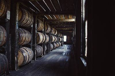 Photograph - Heaven Hill Barrels  by Joseph Caban