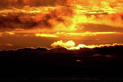 Photograph - Heaven Is Orange Sunset by Matt Harang