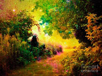 Fairy Tale Photograph - Heaven's Garden by Johari Smith