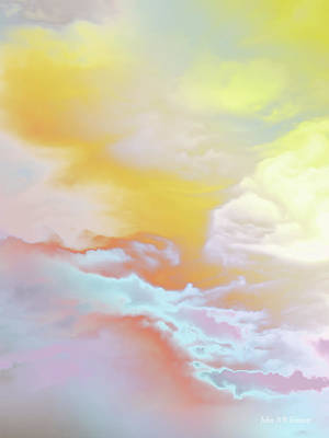 Painting - Heaven by John WR Emmett