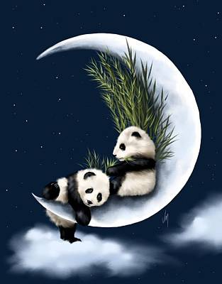 Bamboo Painting - Heaven Of Rest by Veronica Minozzi