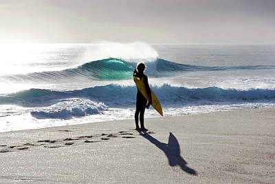 Surfing Art Photograph - Heaven On A Stick. by Sean Davey