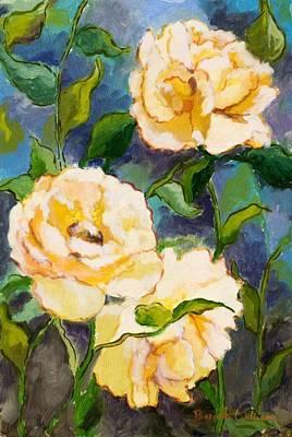 Heaven On Earth Roses Art Print by Brenda Williams
