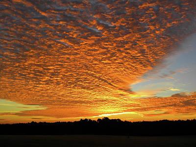 Photograph - Heaven Sent Golden Sunrise by Matthew Seufer