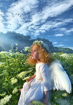 Print featuring the photograph Heaven Sent by Phil Koch