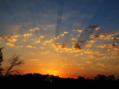 Photograph - Heaven Sent by Scott Hovind