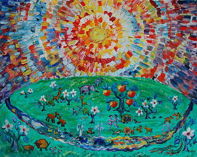 Heaven Under Sun Original by Yuliya Talinovsky