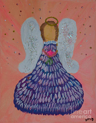 Painting - Heavenly Angel by Donna Brown