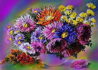 Digital Art -  Heavenly  Blossom by Karen Showell