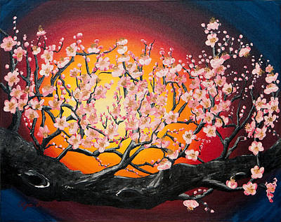 Heavenly Blossoms Art Print by Olga Smith