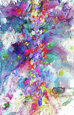 Painting - Heavenly Cosmos Series 1976.032914invertfadediff by Kris Haas