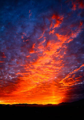 Photograph - Heavenly Flames by Paul Marto