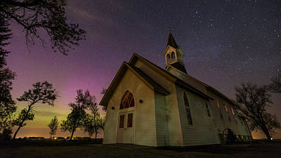 Photograph - Heavenly Lights 2 by Aaron J Groen