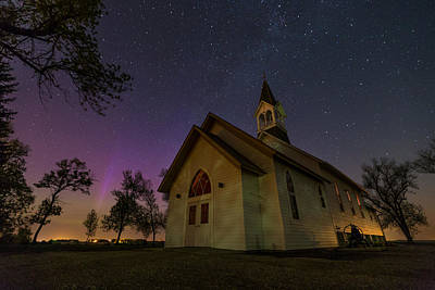 Photograph - Heavenly Lights by Aaron J Groen