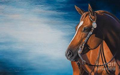 Western Bridle Pastel - Heavenly Mac by Joni Beinborn