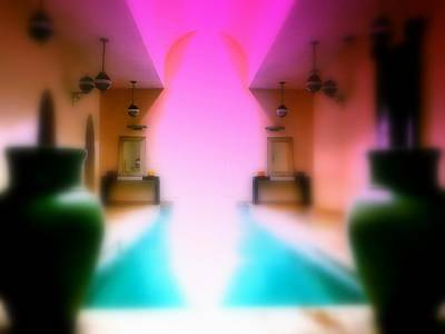 Heavenly Marrakech Spa Art Print
