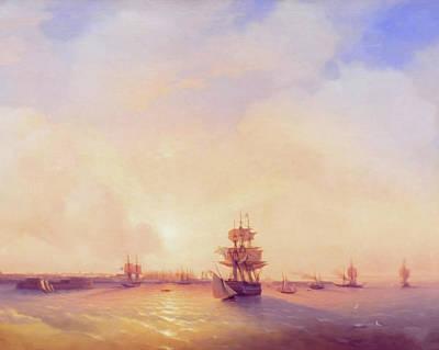 Mixed Media - Heavenly Morning On The Sea by Georgiana Romanovna