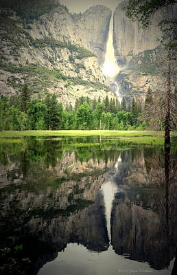 Photograph - Heavenly Reflections At Yosemite by Joyce Dickens
