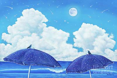Heavenly Shower Art Print