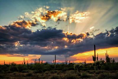 Photograph - Heavenly Skies At Sunset  by Saija Lehtonen