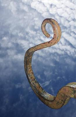 Photograph - Heavenly Sky Hook by Richard Brookes