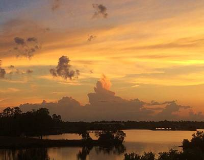 Photograph - Heavenly Sky N Flames by Cindy Croal