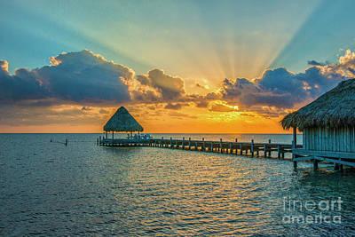 Photograph - Heavenly Sunrise by David Zanzinger