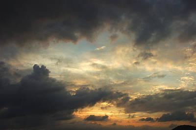 Photograph - Heavenly Sunrise by Robert Anschutz