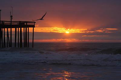 Photograph - Heavenly Sunrise by Robert Banach