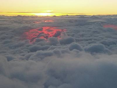 Photograph - Heavenly Sunset by Michael Merry