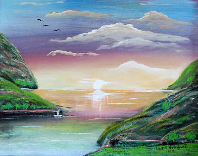 Painting - Heavenly View by Luis F Rodriguez