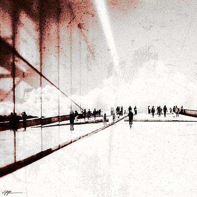 Heavenly Walk In Oslo 1 Art Print by Marianne Hope