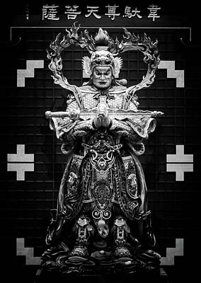 Photograph - Heavenly Warrior Statue by Alexander Kunz