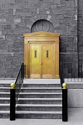 Photograph - Heavens Door Series 3391 by Carlos Diaz