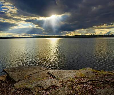 Steven Michael Photograph - Heaven's Eye by Steven Michael