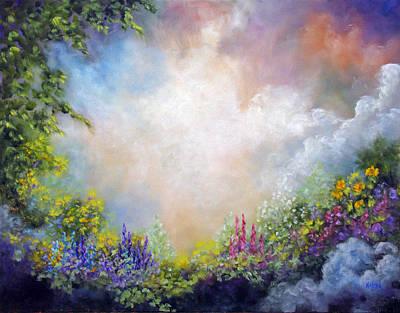 Painting - Heaven's Garden by Marina Petro