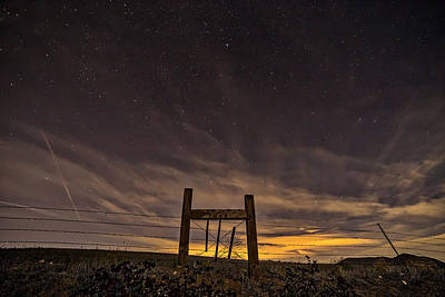 Eclipse Photograph - Heaven's Gate by Peter Tellone