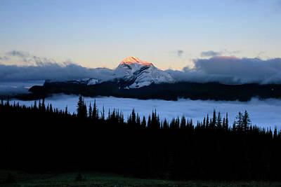 Heaven's Peak Print by Dave Hampton Photography