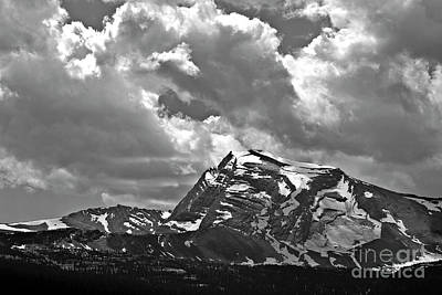 Landscape Photograph - Heaven's Peak Glacier National Park by Larry Darnell