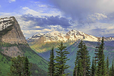 Photograph - Heavens Peak by Jack Bell