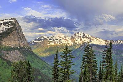 Photograph - Heavens Peak by Jack Bell