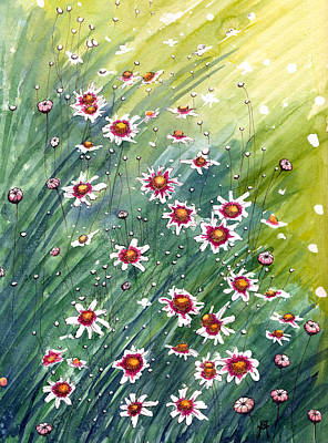 Painting - Coreopsis by Katherine Miller